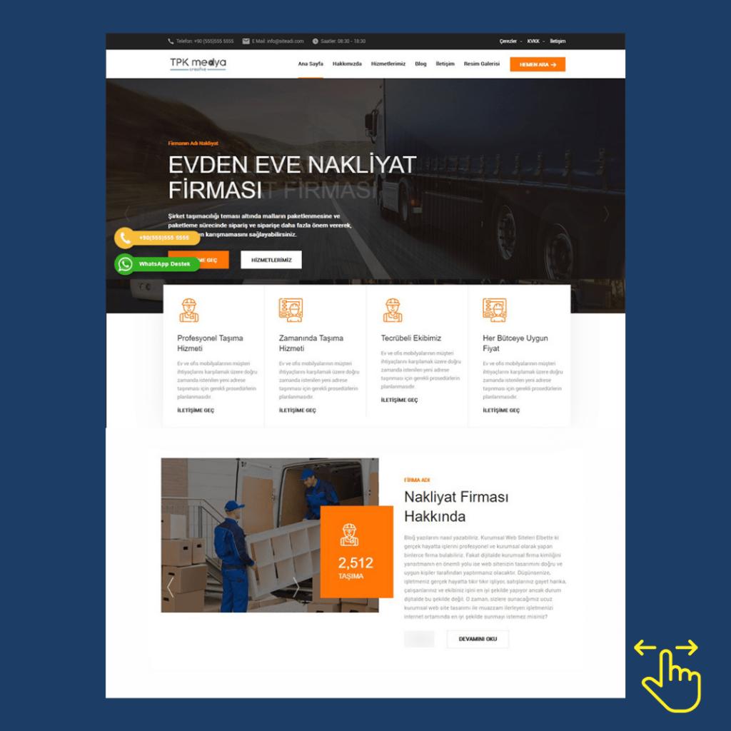 Ankara Hazır Tasarım Web Siteleri